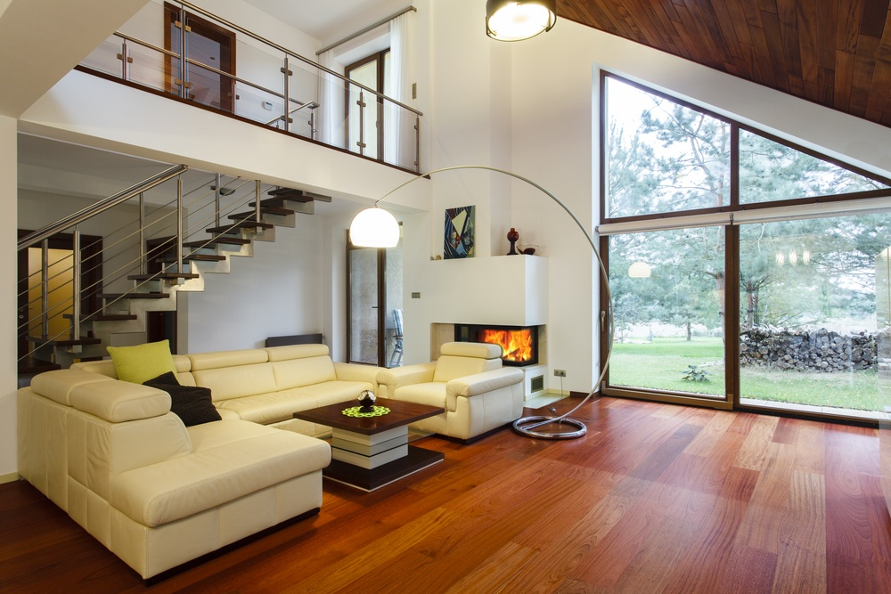 Modern house with entresol and spacious living room.jpeg